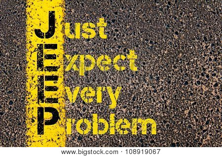 Business Acronym Jeep As Just Expect Every Problem