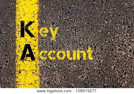 Business Acronym Ka As Key Account