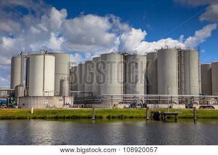 Storage Tank Background