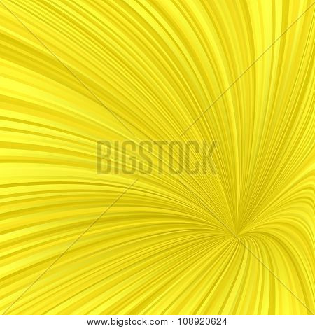 Yellow abstract swirl background