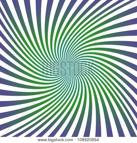 Green purple spiral design background