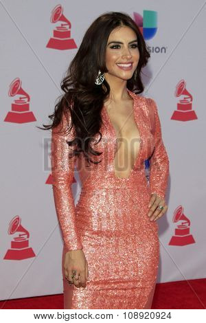 LAS VEGAS - NOV 19:  Jessica Cediel at the 16th Latin GRAMMY Awards at the MGM Grand Garden Arena on November 19, 2015 in Las Vegas, NV