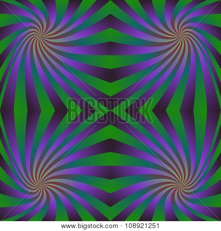 Purple green seamless swirl pattern background