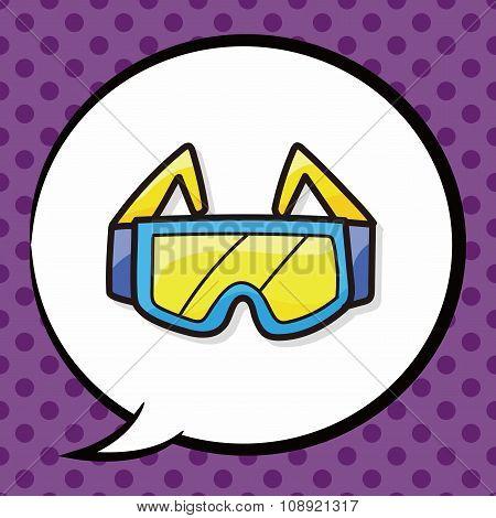 Goggle Color Doodle