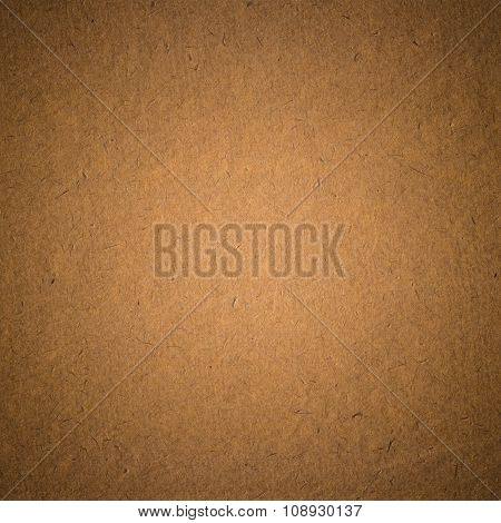 old recycled dark sepia color paper texture background