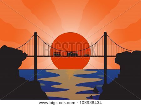Holiday Vehicles Suspension Bridge