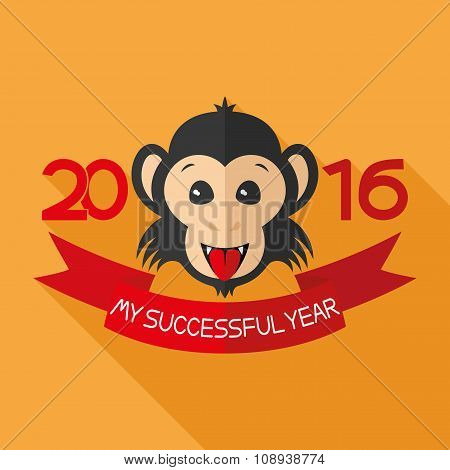 Monkey Zodiac symbol of the new year