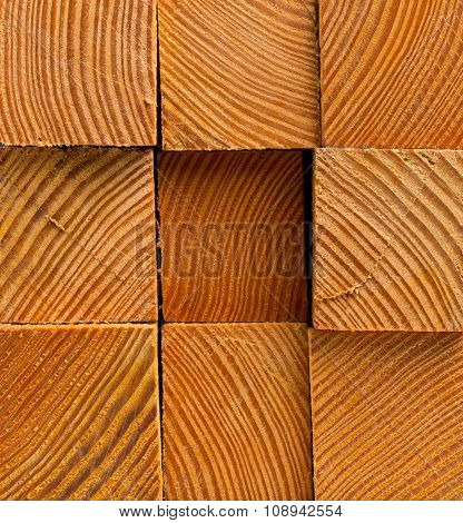 Wooden Blocks Background
