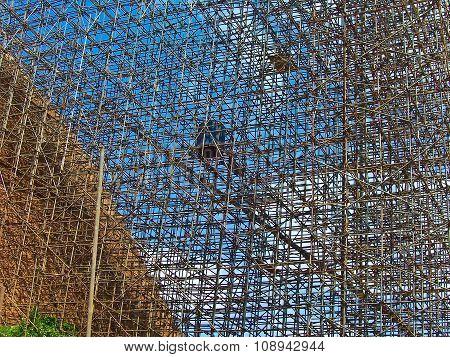 Rack At The Jetavanarama Dagoba For Renovation Work