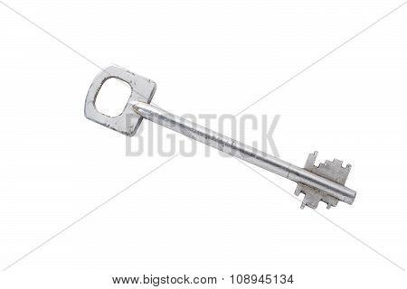 Key  Isolated On White Background.
