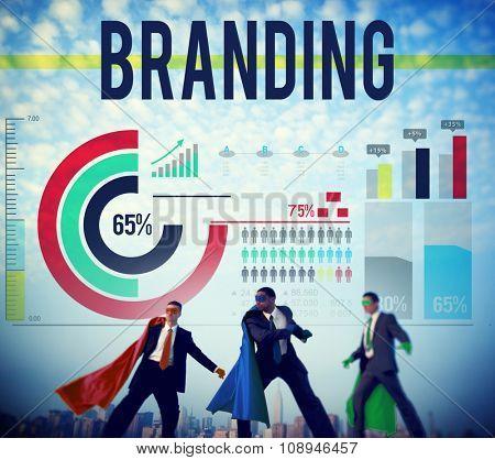 Branding Brand Advertising Copyright Marketing Concept