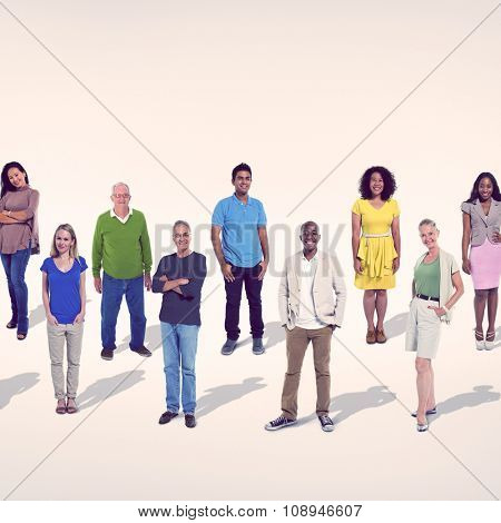 People Diversity Casual Society Group Concept