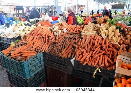 Food Market In Romania