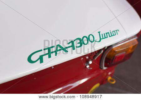 Alfa Romeo Gta 1300 Emblem