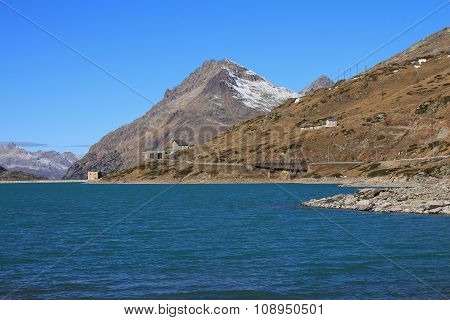 Scenery On The Bernina Mountain Pass