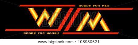 Vector Logo Women Men