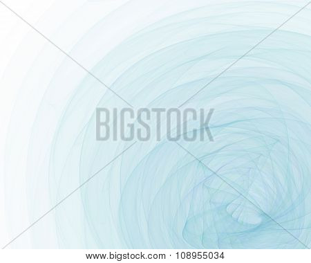 Abstract Fractal Background With Thin Fabric Texture