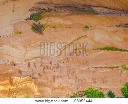 Arizona, Anasazi Ruins, Canyon De Chelly National Monument