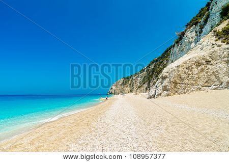 Egremni Beach, Lefkada Island, Greece