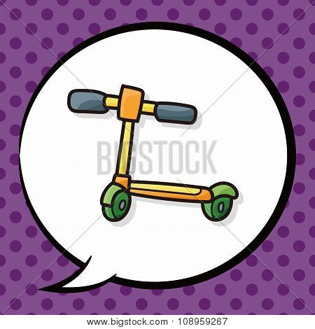 Toy Bike Doodle