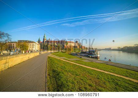 Krakow Wawel view