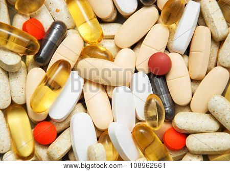 Top View Of The Pills