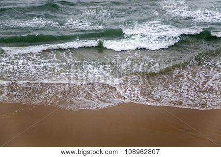 Varkala Beach In Kerala State, India