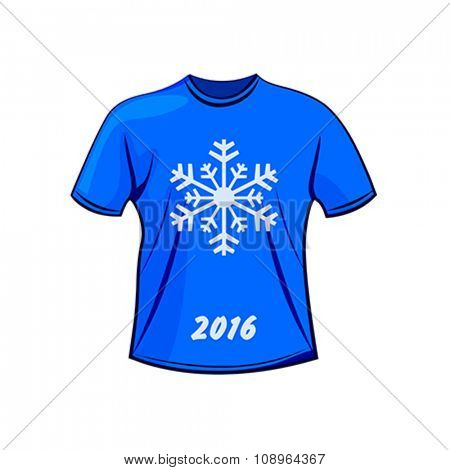 T-shirt design for winter