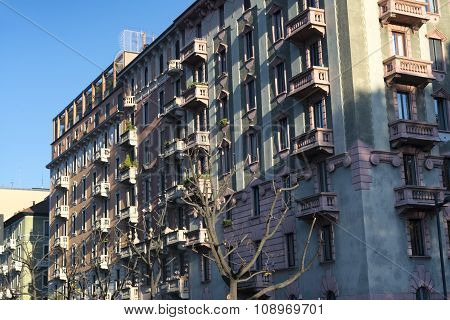 Milan (italy): Residential Buildings