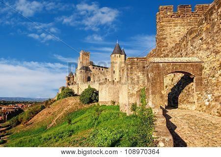 Cite De Carcassonne, Languedoc, France