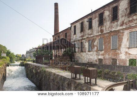 Naviglio Pavese (lombardy, Italy)