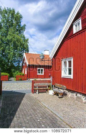 Swedish Countryside Near Joenkoeping
