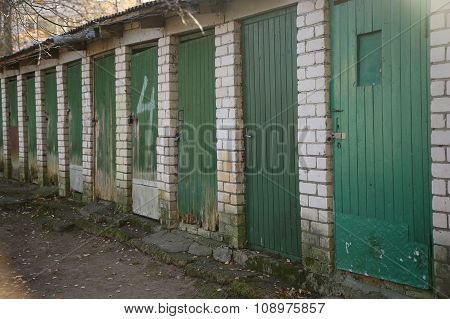 Row Of Doors