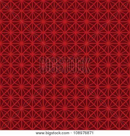 Seamless Chinese style rhomb flower pattern background.