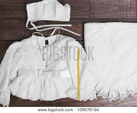 Christening Baby Whit
