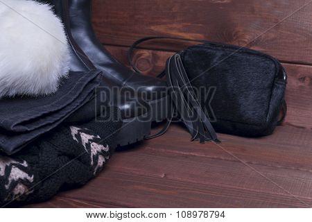 Winter Autfit Black