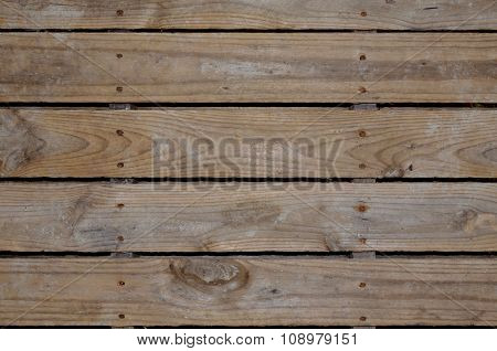 Background, backdrop wooden pallet