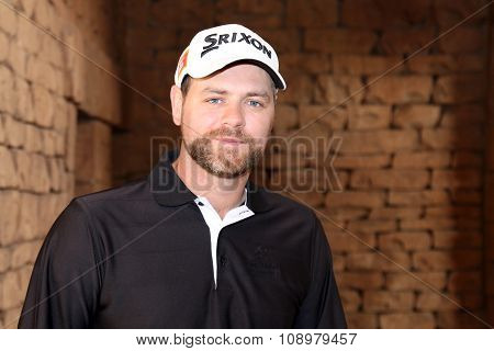Singer-songwriter And Tv Presenter Brian Mcfadden November 2015 In South Africa