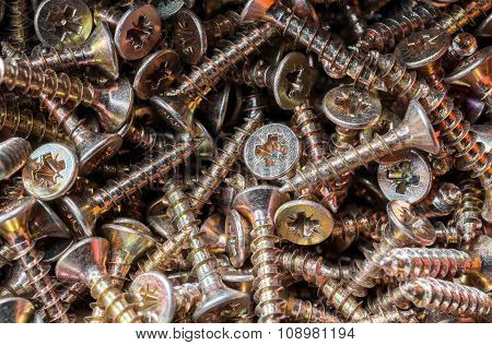 Macro Of A Collection Of Screws 3
