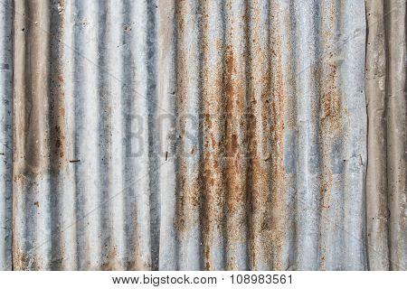 zinc sheets wall