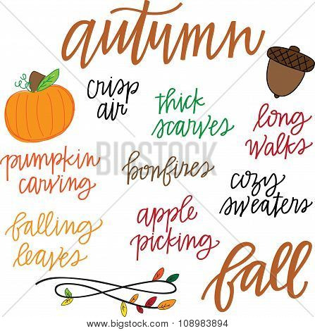 Autumn Activities Set