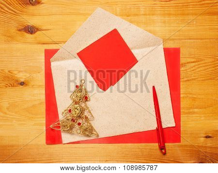 Bright Christmas Congratulatory Letter