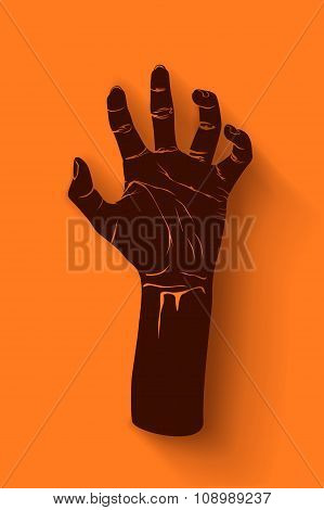 picture of zombie hand1