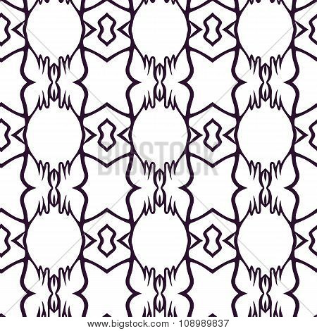 Beautiful abstract vector seamless picture  can be used as interior pattern or clothes pattern.