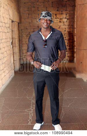 Radio Personality Thomas Msengana November 2015 In South Africa