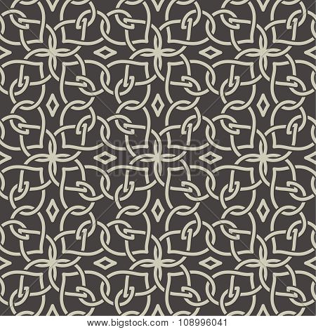 Seamless Pattern In Arabic Style