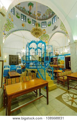 The Abuhav Synagogue, Safed (tzfat)