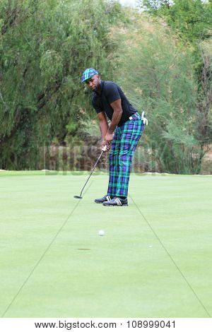 Radio And Tv Personality Johnathan Joseph, Dj Spoony Following His Put Shot On November 2015 In Sout