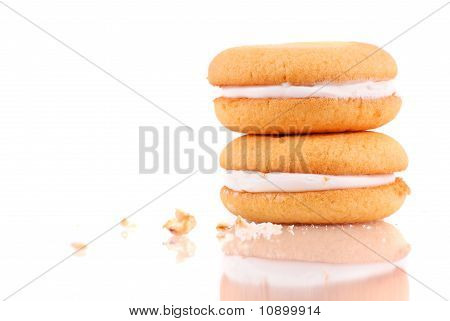 Cream Center Sponge Cake Cookie