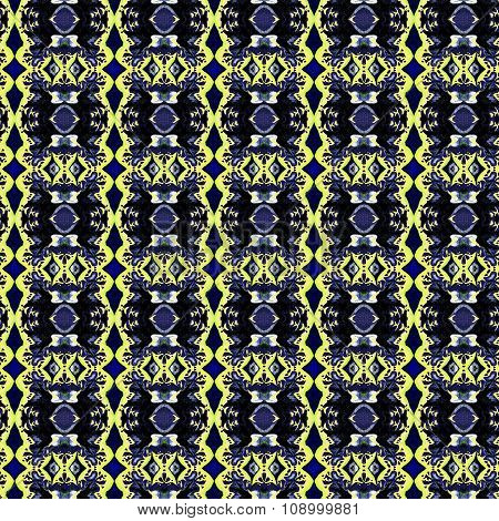 Beautiful abstract vintage seamless picture  can be used as interior pattern or clothes pattern.